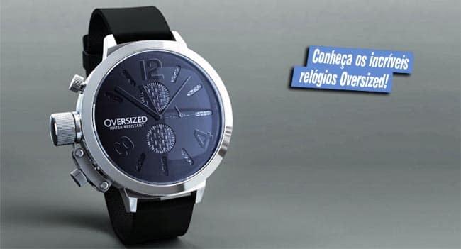 Conheça os Relógios Oversized HQSC