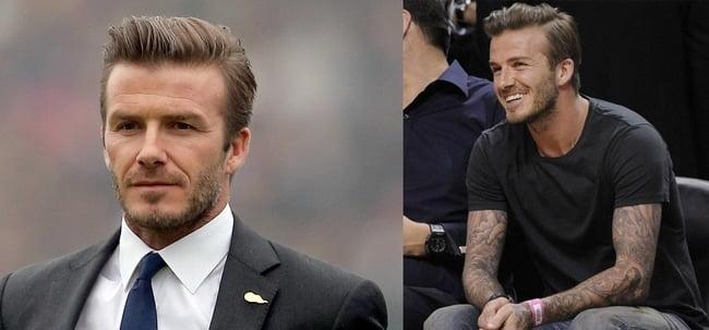 Cortes de Cabelo dos famosos David Beckham