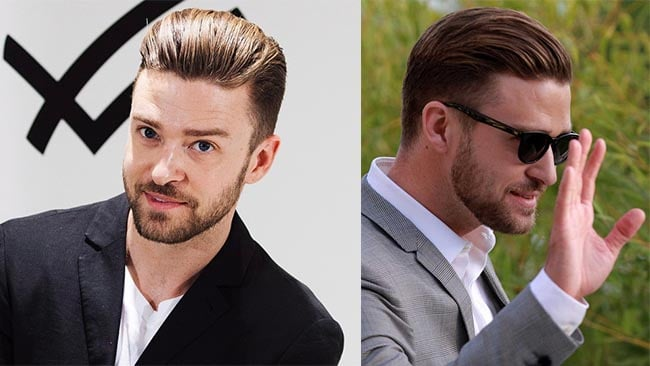 Cortes de Cabelo dos famosos Justin Timberlake