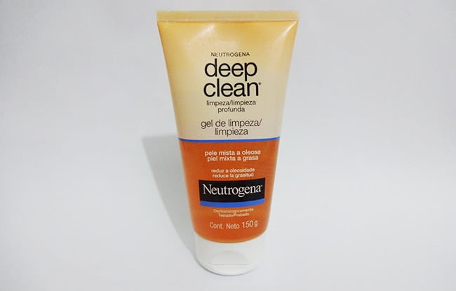 Gel de limpeza Deep Clean Neutrogena HQSC 1