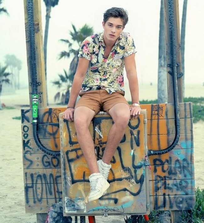 Look Floral Masculino - HQSC 10