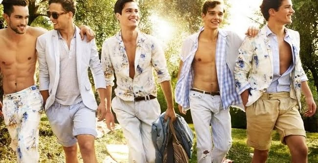 Look Floral Masculino - HQSC 2 2
