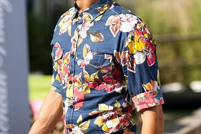 Look Floral Masculino - HQSC 3