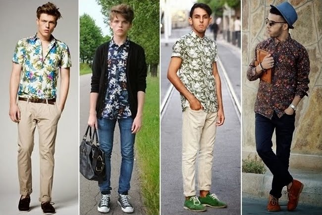 Look Floral Masculino - HQSC 7