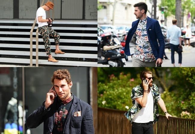 Look Floral Masculino - HQSC 8