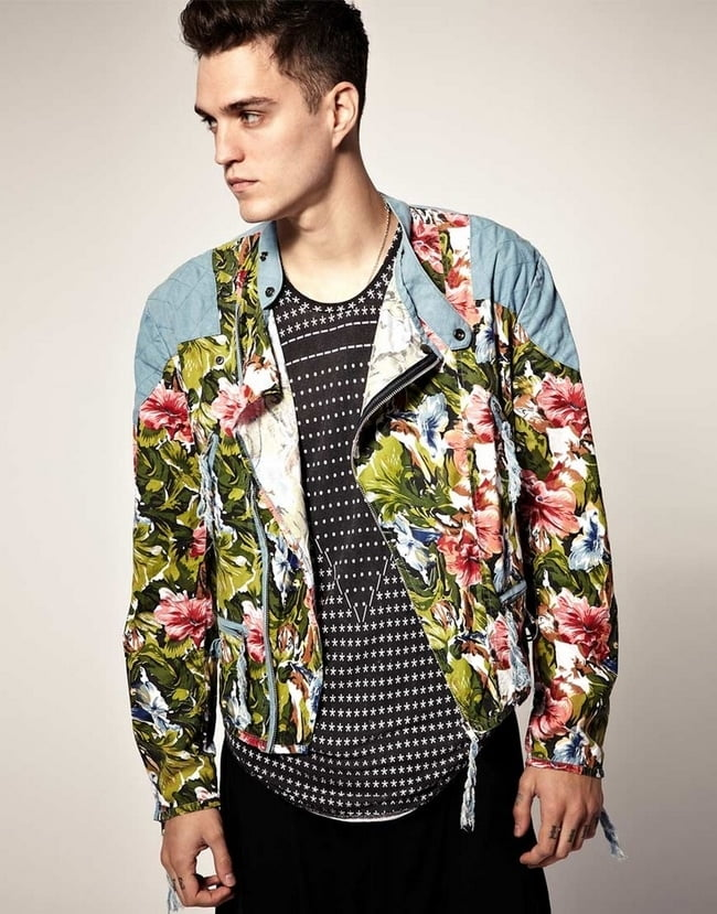 Look Floral Masculino - HQSC 9