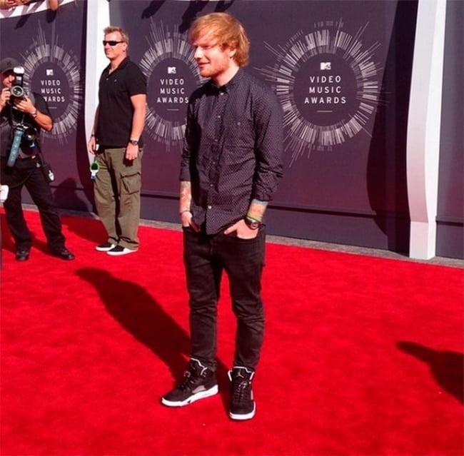 Looks Masculinos do VMA 2014 Ed Sheeran