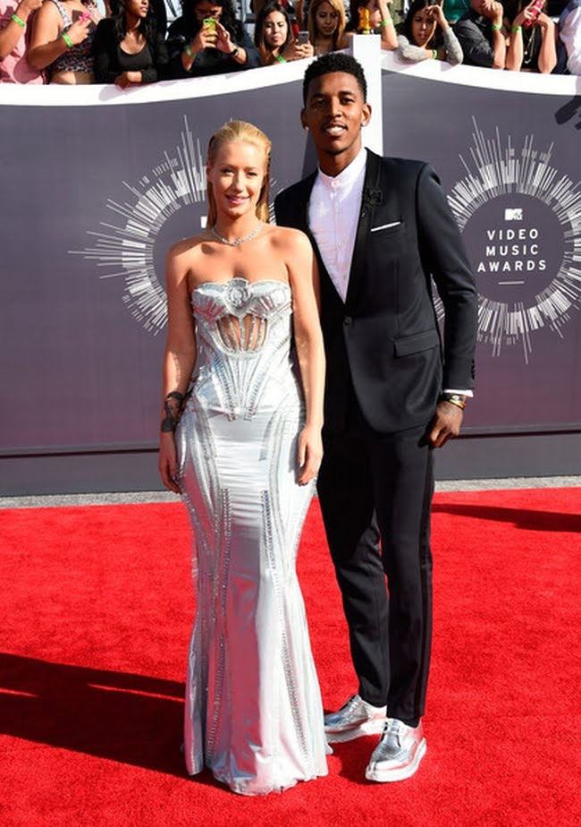 "Looks Masculinos do VMA 2014 Nick ""Swaggy P"" Young"