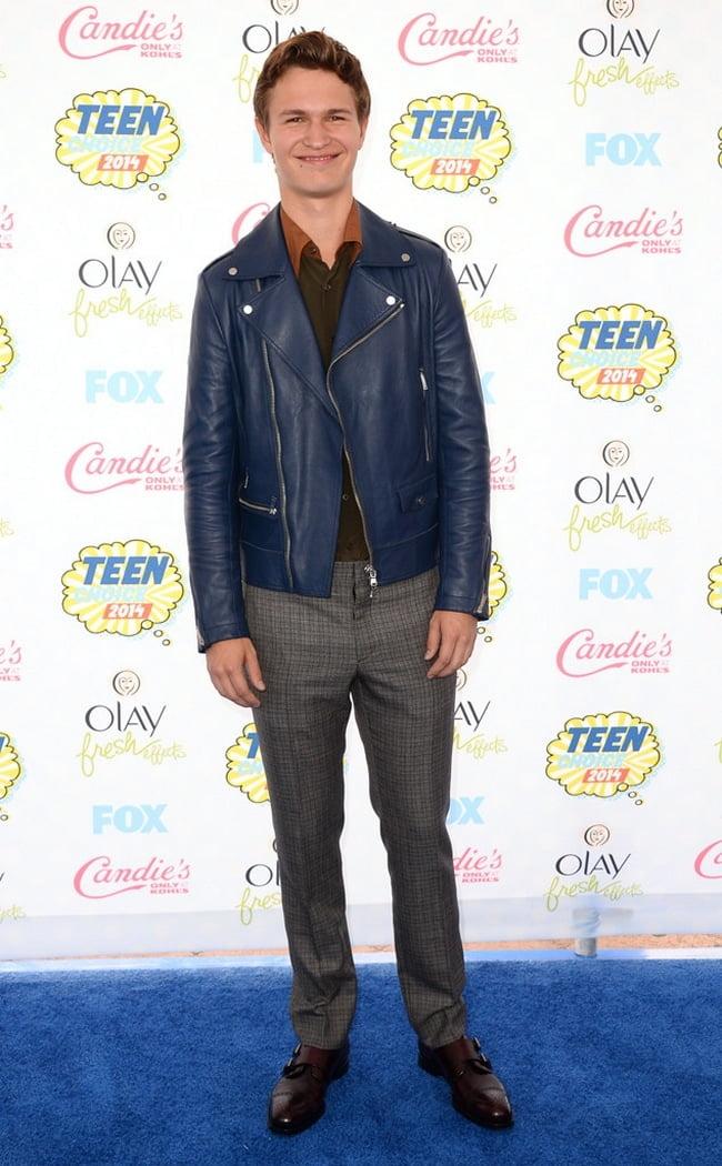 Looks masculinos teen choice 2014 Ansel Elgort HQSC
