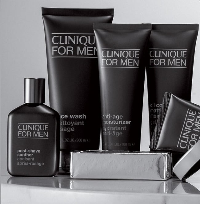 Nova linha Clinique For Men