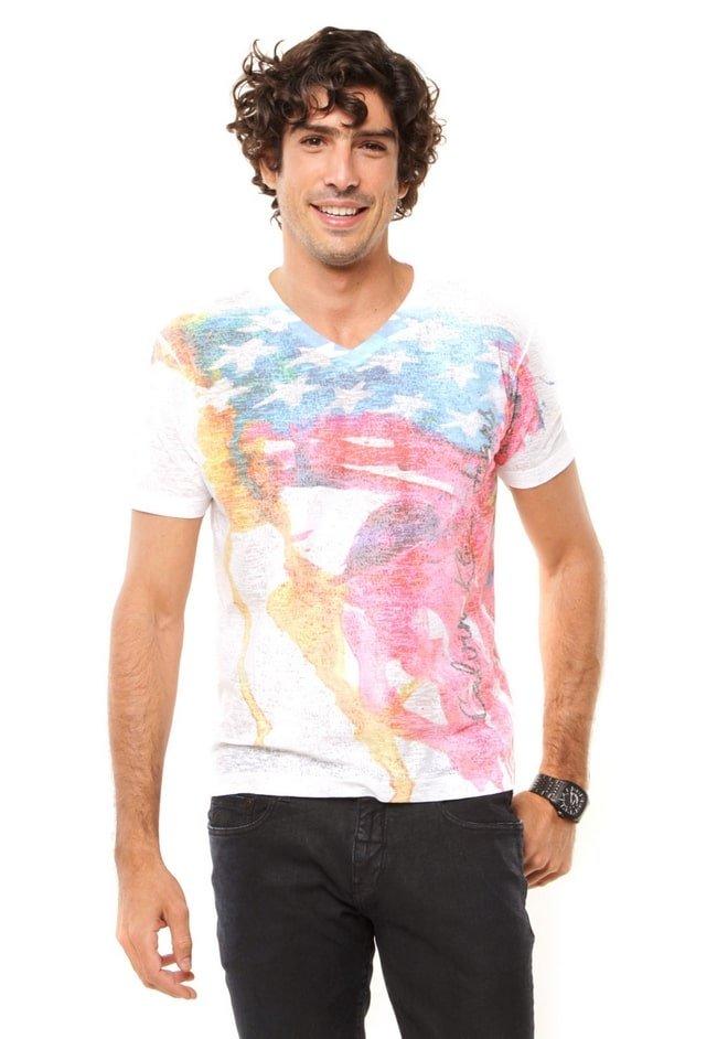Onde Comprar Camisas com Estampas de Bandeiras 2