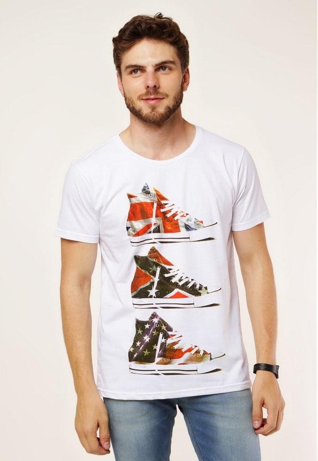Onde Comprar Camisas com Estampas de Bandeiras 9