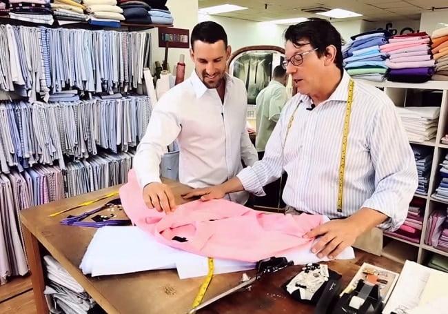 Camisa Criada por Teddy Stratford HQSC 1
