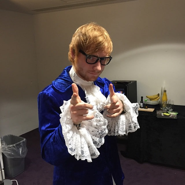 Halloween Ed Sheeran HQSC