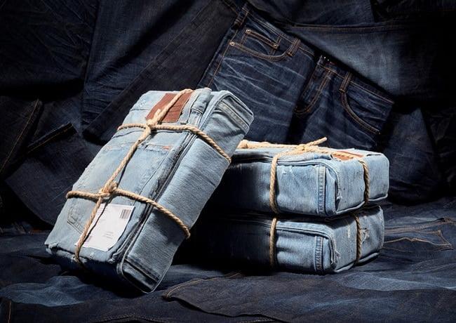 Marca de roupas usa seu próprio Jeans como embalagem HQSC 4