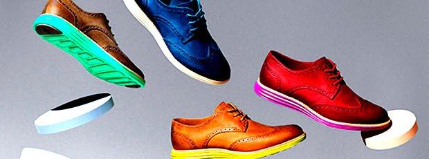 Sapatos Coloridos Masculinos para o Verão 2014-2015 HQSC 1