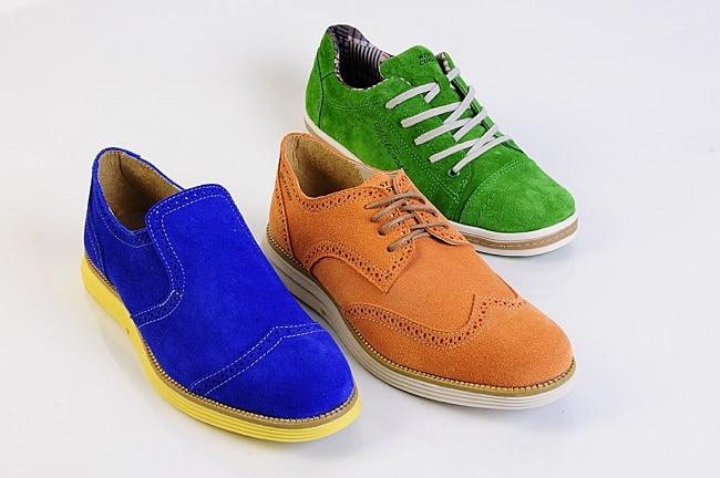 Sapatos Coloridos Masculinos para o Verão 2014-2015 HQSC 4