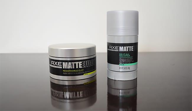 Cera  Do-It All Wax Stick e Reworkable Clay  Axe Matte Effect HQSC 1