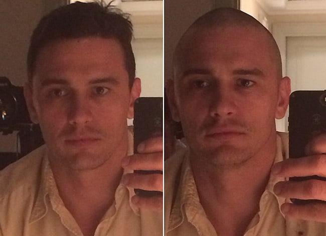 Retrospectiva cabelo famosos - James Franco HQSC