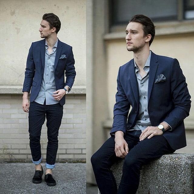 Sapato preto masculino combina com o que HQSC 7