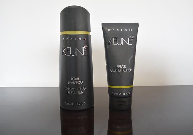 Como eu ando cuidando do meu cabelo Shampoo-e-Condicionador-Repair-da-Keune-HQSC 1