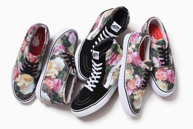 Sapatos com estampa floral HQSC 3