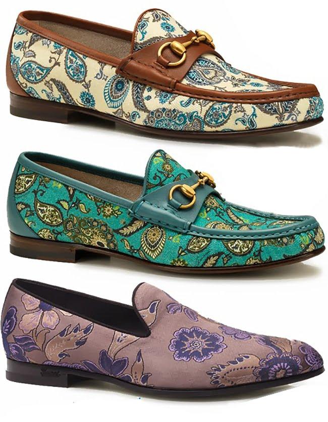 Sapatos com estampa floral HQSC 4