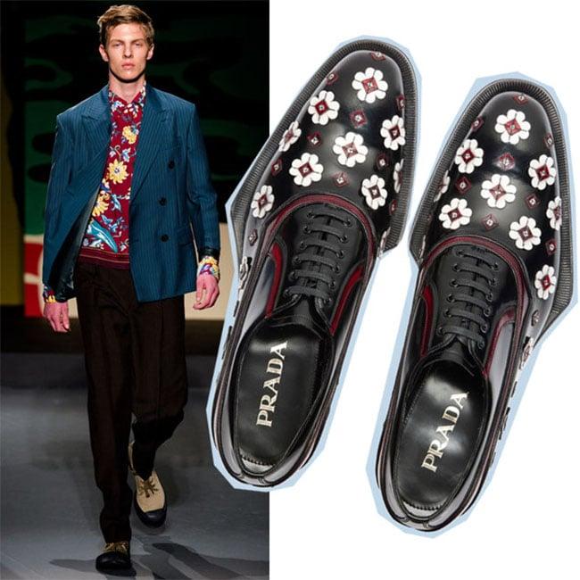 Sapatos com estampa floral HQSC 6