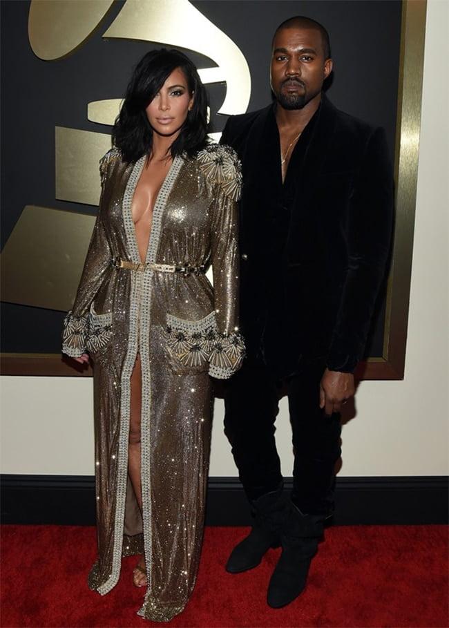 Kanye West Grammy 2015