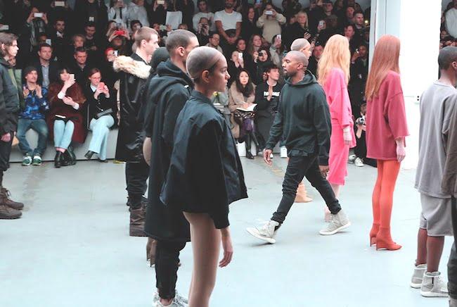 Kanye West para Adidas Yeezy HQSC 1