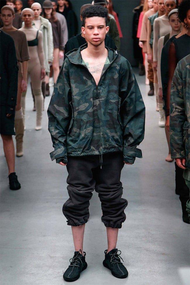 Kanye West para Adidas Yeezy HQSC 2
