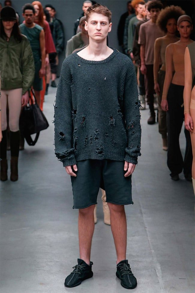 Kanye West para Adidas Yeezy HQSC 3