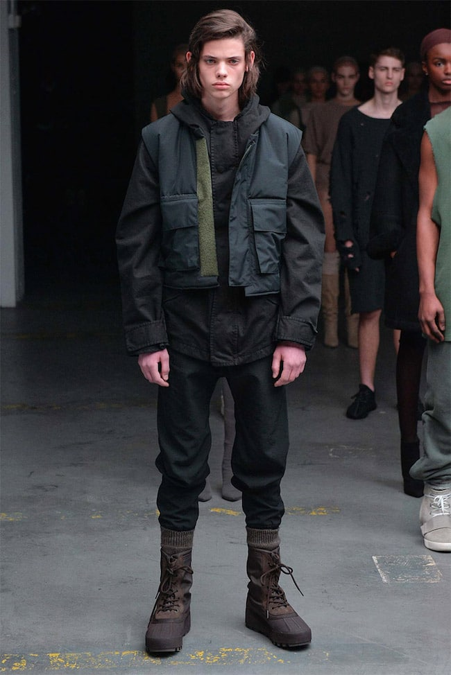 Kanye West para Adidas Yeezy HQSC 6