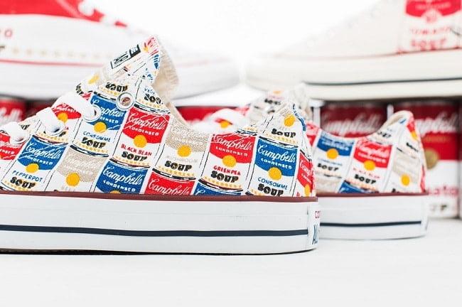 Modelos da Converse inspirados em Andy Warhol chegam ao Brasil HQSC 0