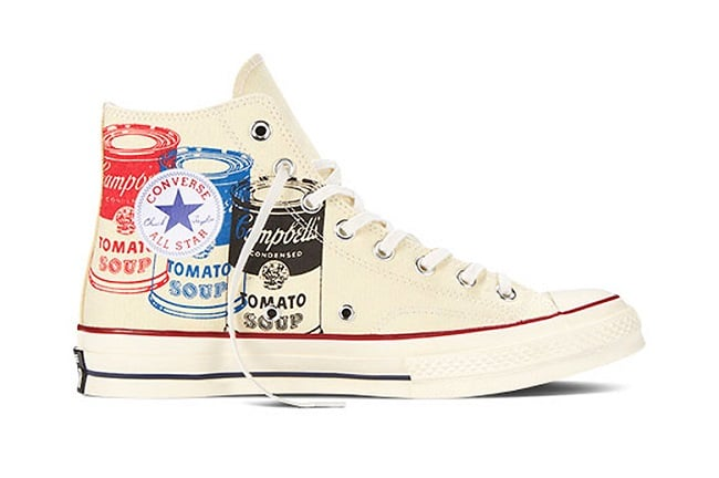 Modelos da Converse inspirados em Andy Warhol chegam ao Brasil HQSC 1