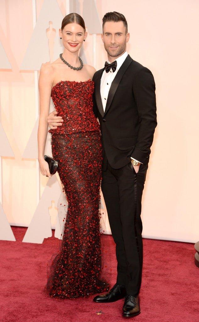 Os Mais Bem Vestidos Oscar 2015 Adam Levine Homens que se cuidam