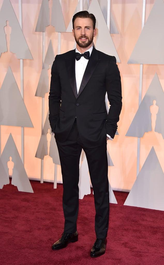 Os Mais Bem Vestidos Oscar 2015 Chris Evans Homens que se cuidam