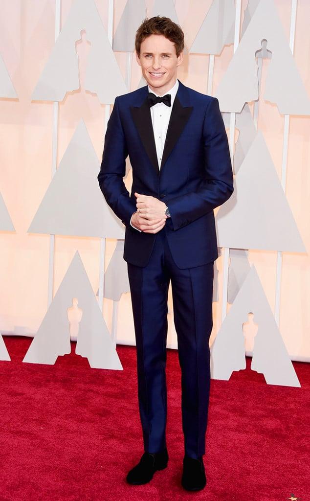 Os Mais Bem Vestidos Oscar 2015 Eddie Redmayne Homens que se cuidam