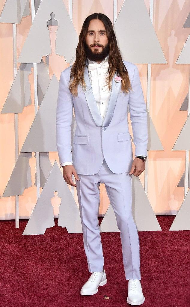 Os Mais Bem Vestidos Oscar 2015 Jared Leto Homens que se cuidam