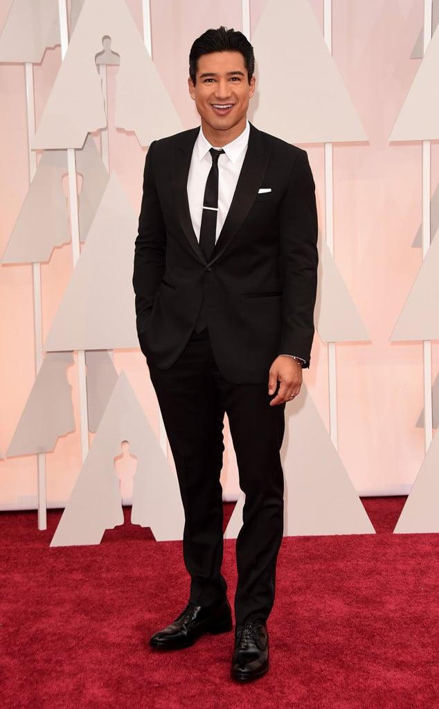 Os Mais Bem Vestidos Oscar 2015 Mario Lopez Homens que se cuidam