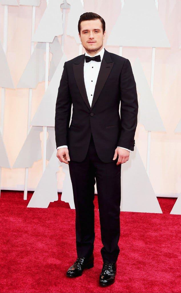 Os Mais Bem Vestidos Oscar Josh Hutcherson Homens que se cuidam