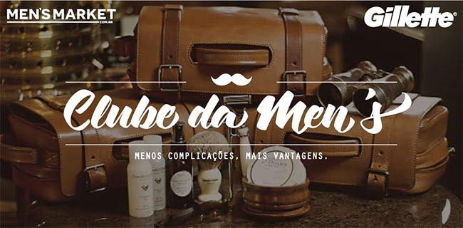 Receba suas Lâminas de Barbear em Casa com o Clube da Men's! HQSC 1