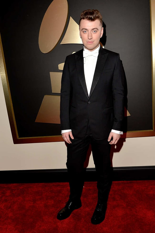 Sam Smith Grammy 2015