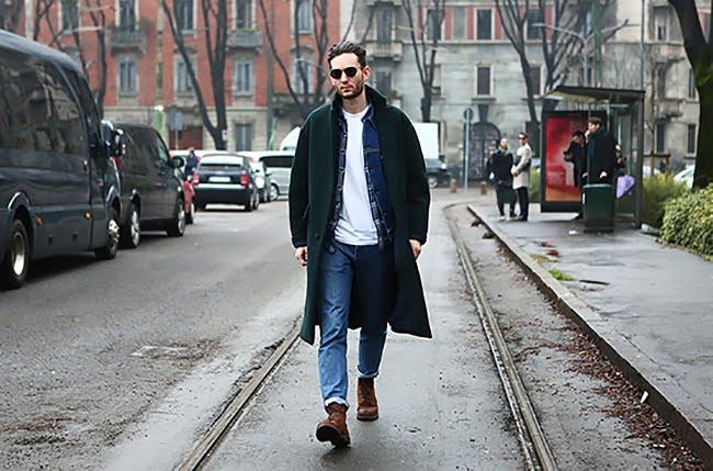 Street Style direto do NYFW Homens que se cuidam 2