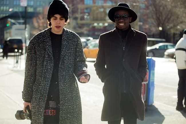 Street Style direto do NYFW Homens que se cuidam 5