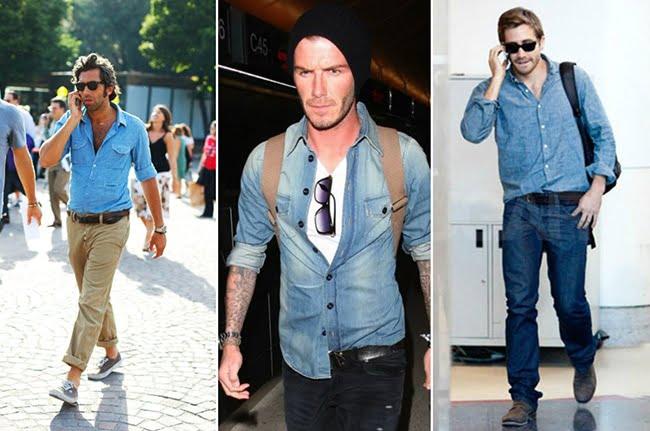 Como Usar Camisa Jeans Masculina Homens que se cuidam 16