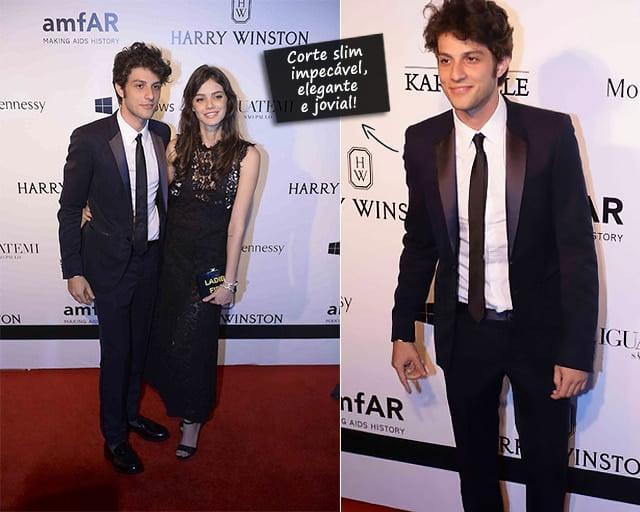 Melhores Looks Masculinos do amfAR 2015 Chay Suede