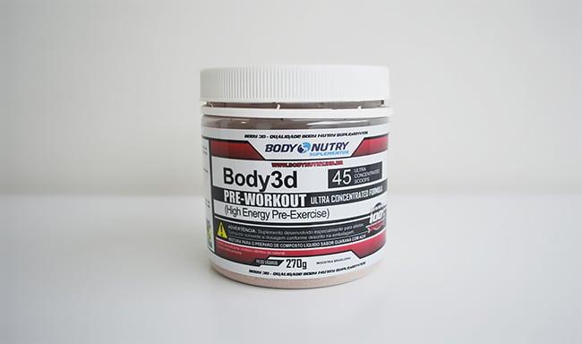 Pré-treino Body3D da Body Nutry Homens que se cuidam 3