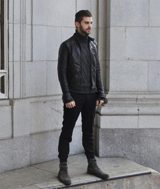 Street Style Masculino com Jaqueta Bomber Homens que se cuidam 2