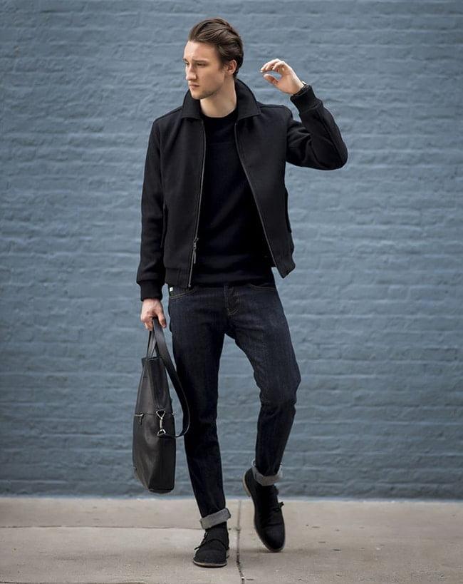 Street Style Masculino com Jaqueta Bomber Homens que se cuidam 6